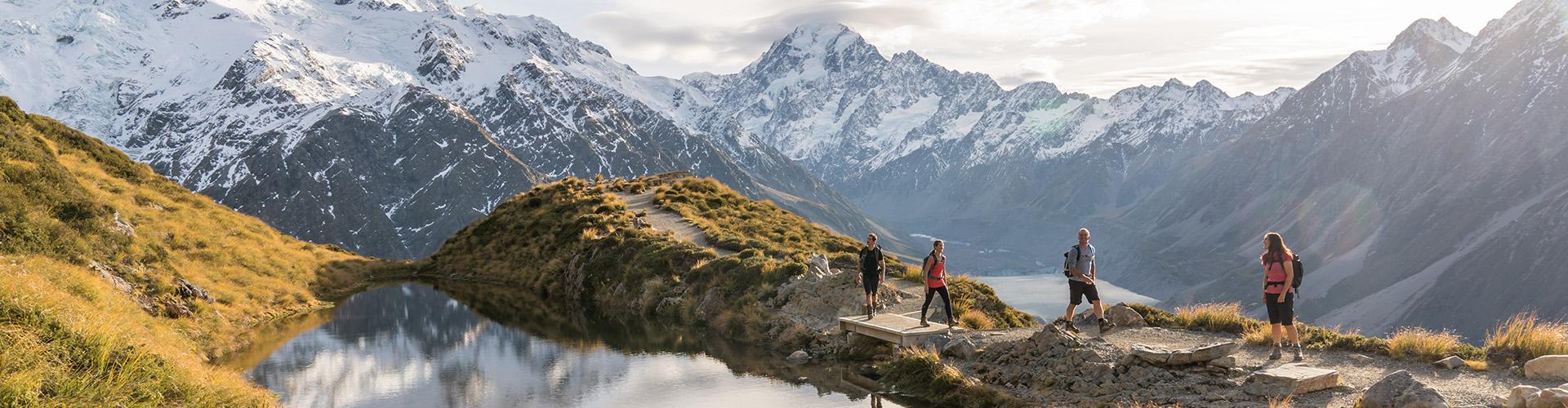 Nueva Zelanda Visitante por primera vez