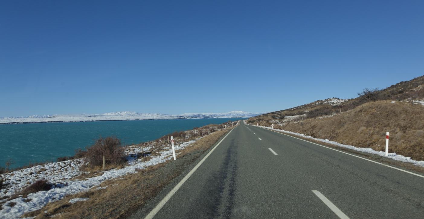国道80号線(マウントクックロード)