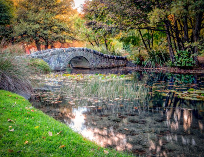 Famoso ponte giardino