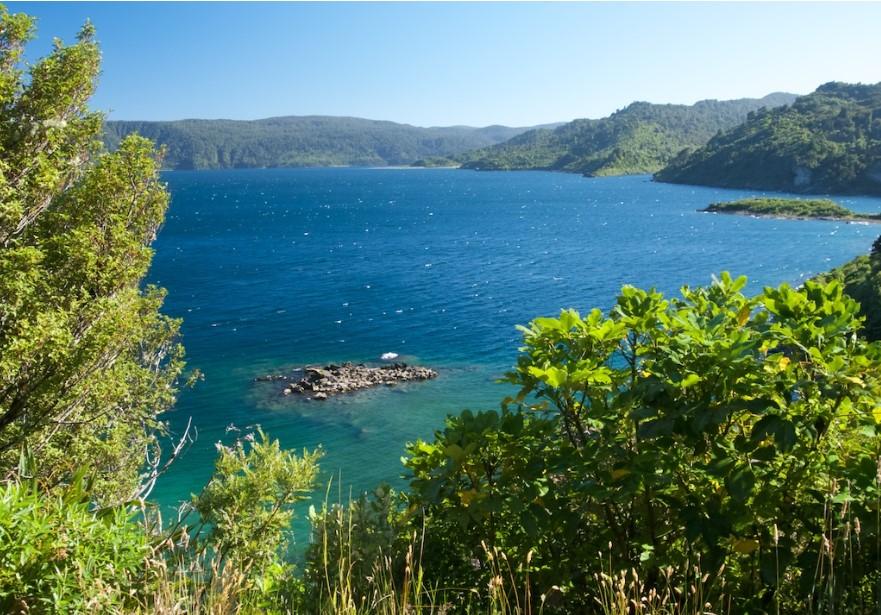 Lake Waikaremoana Nouvelle Zélande