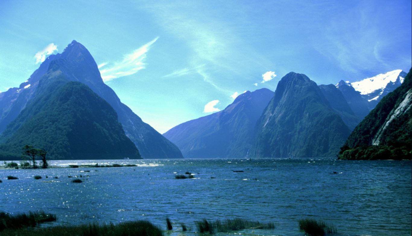 Milford Sound en el Parque Nacional Fiordland