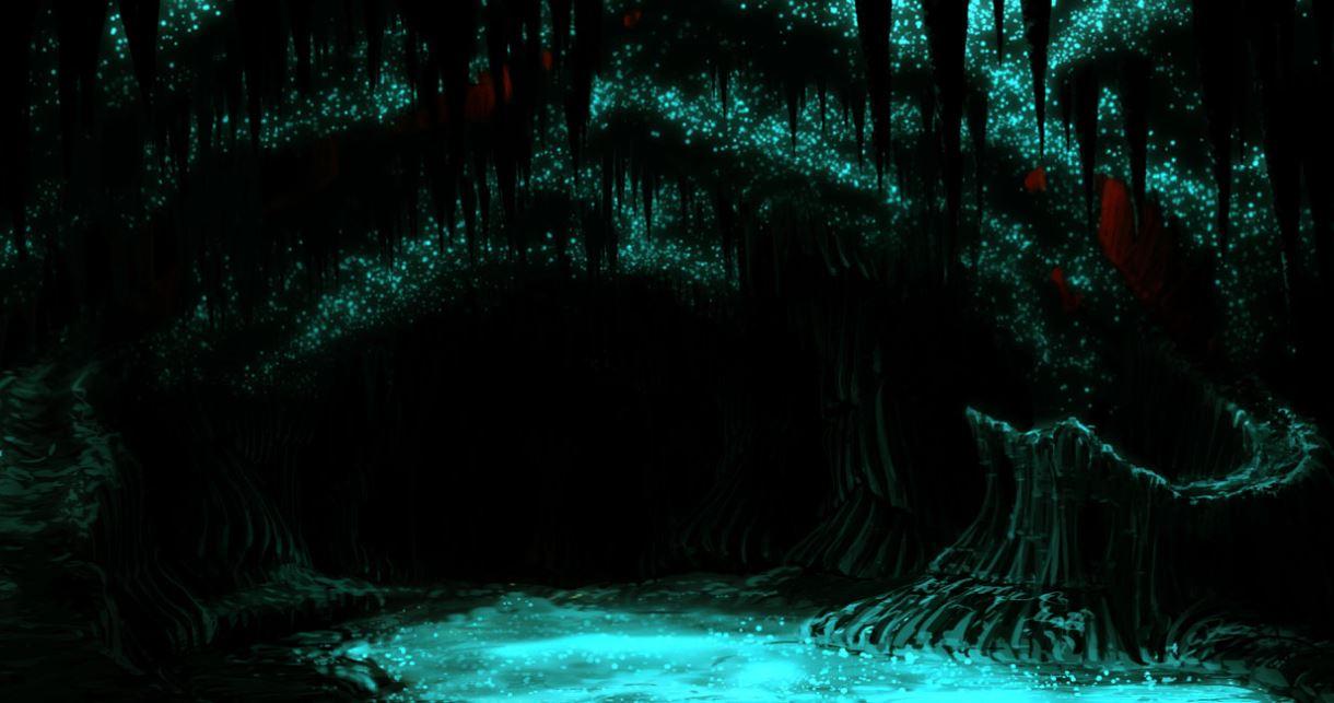 Glühende Leuchthöhlen