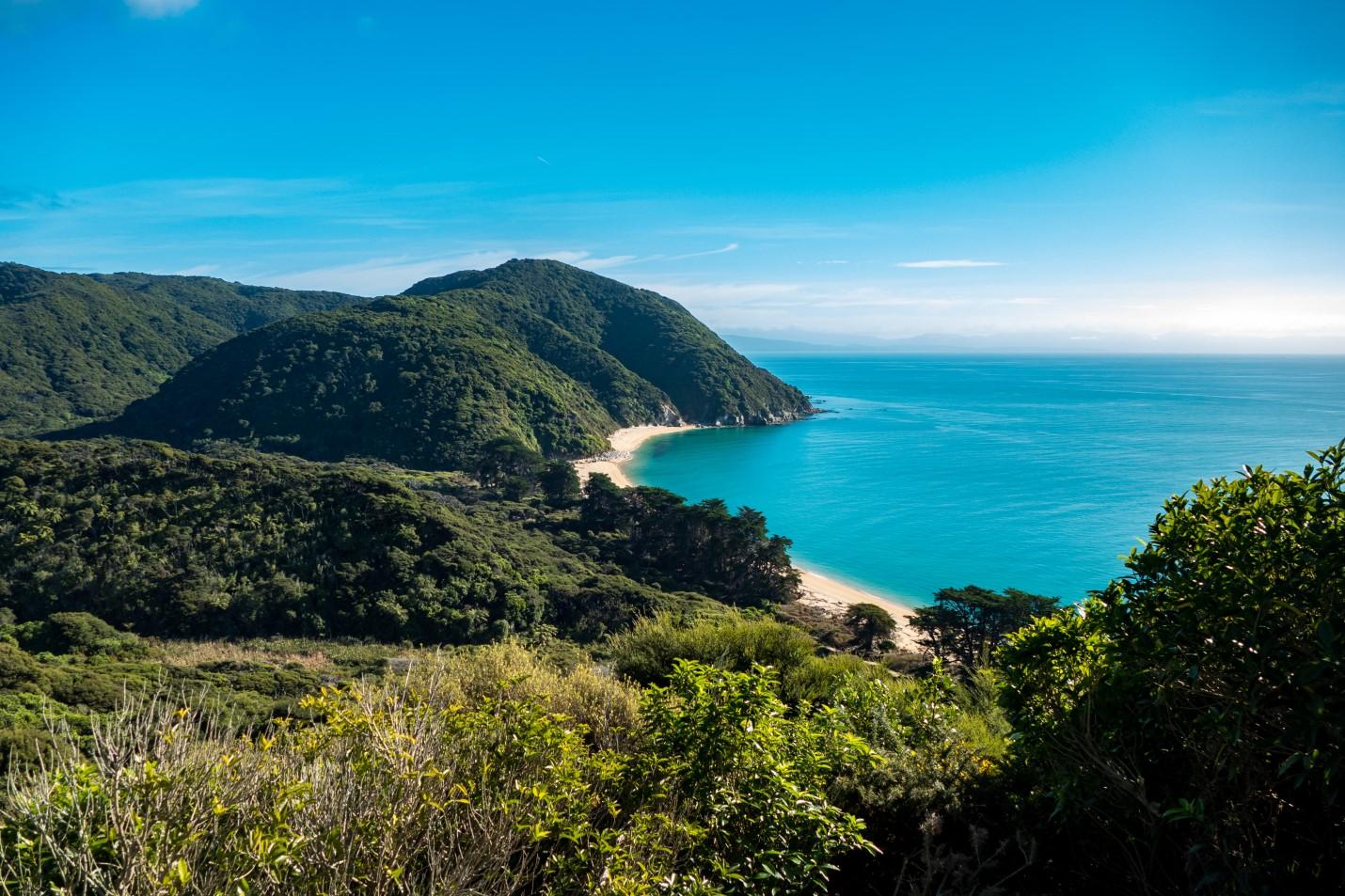 Abel Tasman Coastline Nouvelle-Zélande